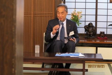 同志社大学・藤澤副学長による講話